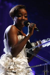 Estelle - soaring high at the MOBOs