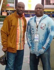 L-R:Dayo Adeneye and Kenny Ogungbe ..