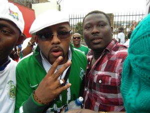 NottingHill Carnival - Tolu Crown with  Banky W
